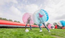 bubbel voetbal amsterdam spelen