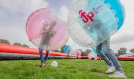 ADD UP 1 Bubble Football Team Building Amsterdam