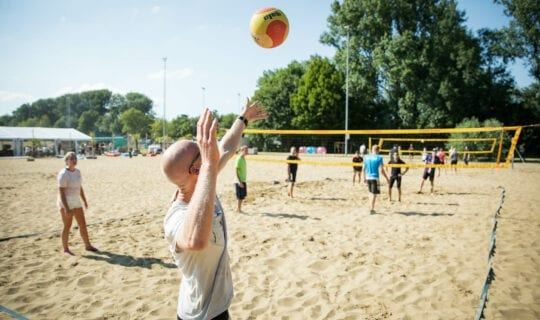 Beachvolleybal Amsterdam