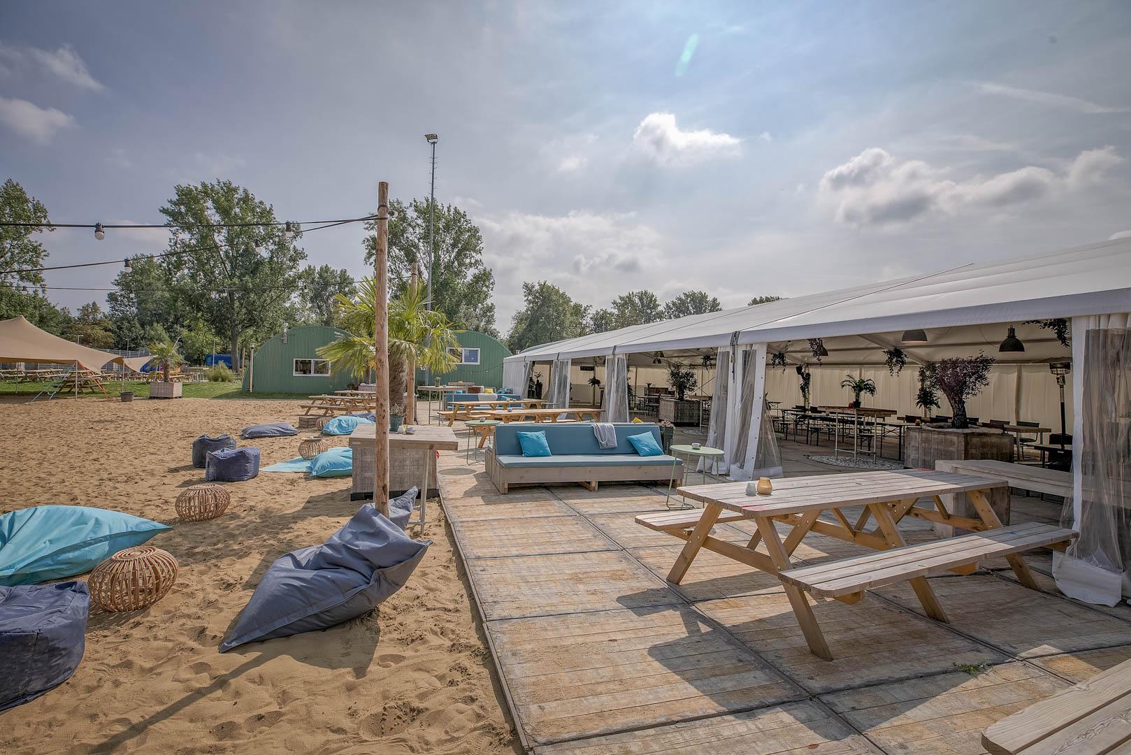 Beachclub vergaderlocatie amsterdam